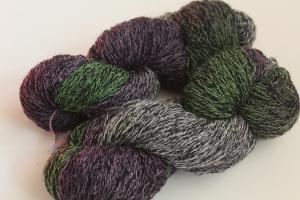 Handgefärbte Sockenwolle Duett 4-fädig Nr. 238 von Farbenspielerei