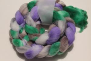 Handgefärbter Kammzug Polwarth Nr. 205 von Farbenspielerei