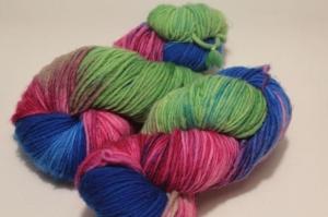 Handgefärbte Single-Merinowolle Nr. 38 von Farbenspielerei - Handarbeit kaufen