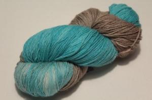 Handgefärbte Wolle Merino-Maulbeerseide Nr. 67 von Farbenspielerei   - Handarbeit kaufen