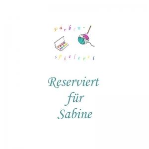 Handgefärbte Single-Merinowolle für Sabine von Farbenspielerei