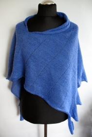 Poncho Cape Kleidung blau Streifen Striped   (Kopie id: 100205140)