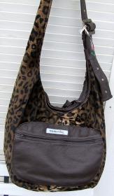 Tasche *tadd im Leopardendesign, Beutel