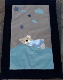Bärchen Krabbeldecke, Kinderdecke groß 95x120 cm - Handarbeit kaufen