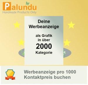 Banner buchen pro 5000 Kontakte mit Palundu Grafik - Handarbeit kaufen