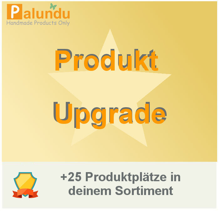 - +25 Palundu Upgrade Produktsortiment